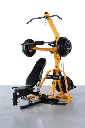 Allenamento alla Leverage Gym Workbench - Power Rack